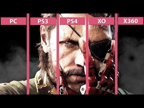 Metal Gear Solid 5 The Phantom Pain – PC vs. PS4 | PS4 vs. PS3 | XO vs. X360 Graphics Comparison - default