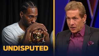 Kawhi is 'damaging his chances to win' by delaying FA decision — Skip Bayless | NBA | UNDISPUTED