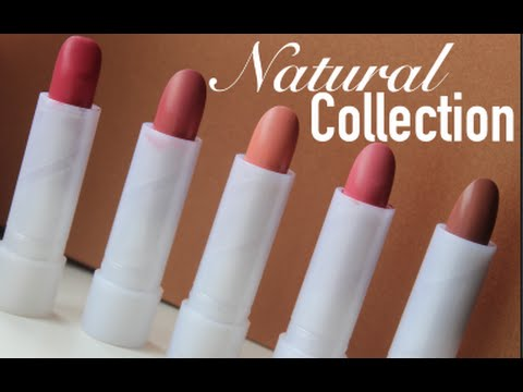 Natural Collection Lipsticks - The Review - missbudgetbeauty