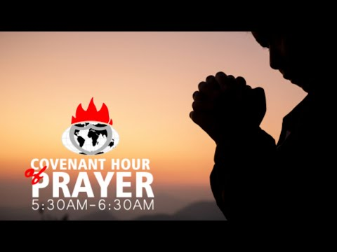 DOMI STREAM: COVENANT HOUR OF PRAYER  13, APRIL 2021.