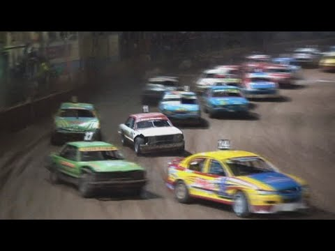 2007/08 Queensland Modified Production Title (Night 2): Maryborough Speedway   8th June 2008 - dirt track racing video image