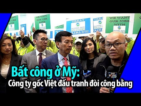 Bất công ở Mỹ: Cộng đồng Việt lên tiếng đòi công bằng cho công ty gốc Việt
