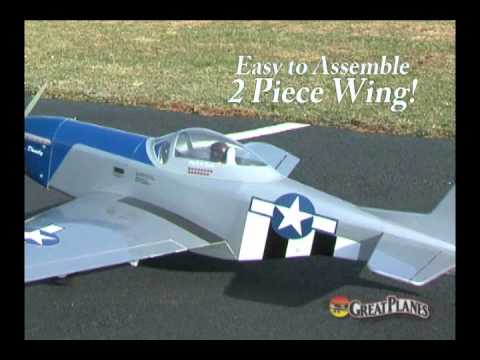 Spotlight: Great Planes® Sport Scale Mustang .46-.70/EP ARF - UCa9C6n0jPnndOL9IXJya_oQ