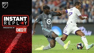 6th Minute Red Card & PKs for Zlatan and Nani | All the controversial moments from MLS week 24