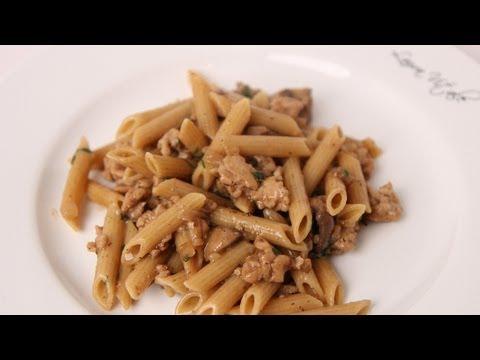 Penne Marsala Recipe - Laura Vitale - Laura in the Kitchen Episode 476 - UCWE_TyjBJPbGql1Diwmqg1Q