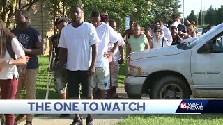 Frustrated customers wait in long line at DMV