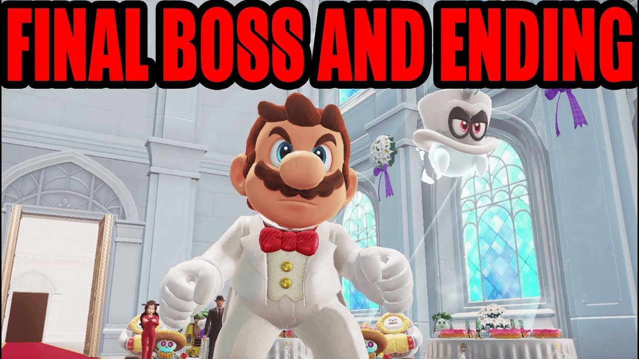 NS] Super Mario Odyssey - Final Boss and Ending (HD