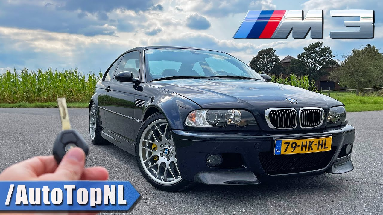 BMW M3 E46 | REVIEW on AUTOBAHN [NO SPEED LIMIT] by AutoTopNL