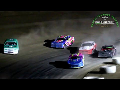 Desert Thunder Raceway IMCA Stock Car Main Event 8/6/21 - dirt track racing video image