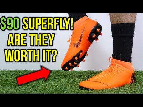 HOW GOOD IS THE $90 SUPERFLY? - Nike Mercurial Superfly 6 Academy MG (Orange) - Review + On Feet - UCUU3lMXc6iDrQw4eZen8COQ