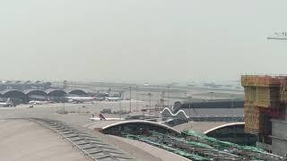 HongKong Airlines A330 landing at Hong Kong
