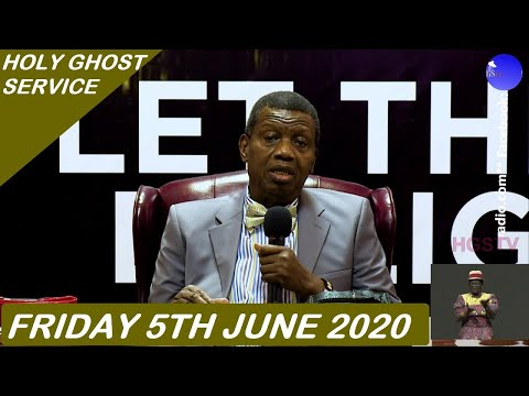 PASTOR E.A ADEBOYE SERMON - RCCG JUNE 2020 HOLY GHOST SERVICE  LET THERE BE LIGHT 6