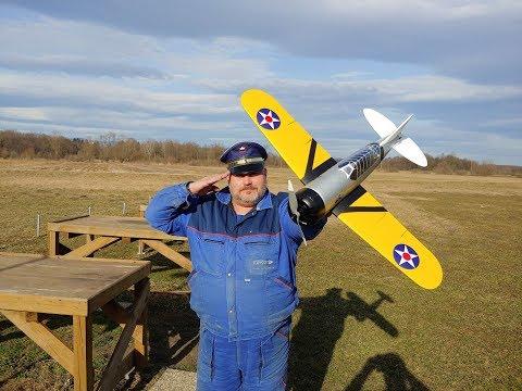 """Durafly BREWSTER F2A BUFFALO 920MM (36"""") PNF Maiden flight - UC3RiLWyCkZnZs-190h_ovyA"""