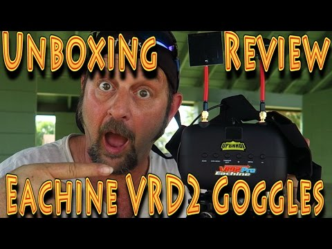 Review: Eachine VR D2 Pro FPV Goggles with DVR!!! (05.12.2017) - UC18kdQSMwpr81ZYR-QRNiDg