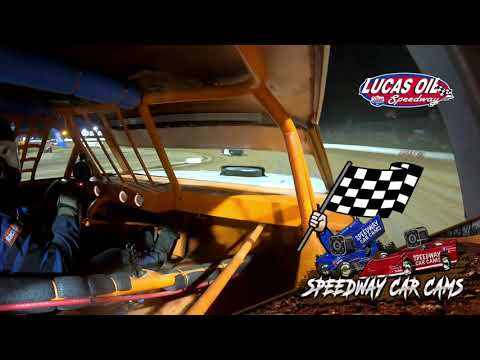 #21 Dalton Phillips - Usra Stock Car - 10-9-2021 Lucas Oil Speedway - In Car Camera - dirt track racing video image
