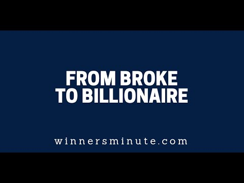 From Broke to Billionaire  The Winner's Minute With Mac Hammond