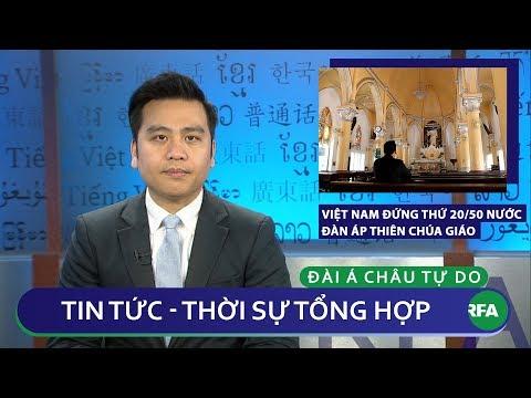 Tin nóng 24h 28/01/2019 | Việt Nam đứng thứ 20/50 nước đàn áp Thiên Chúa giáo