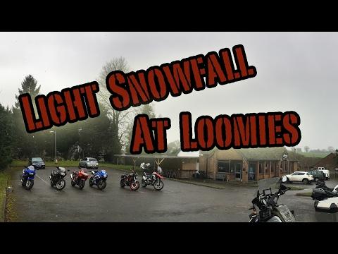 Light Snowfall At Loomies (Cancelled Chip Shop Ride)