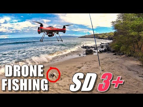 DRONE FISHING TORTURE TEST - Waterproof SwellPro SPLASHDRONE 3+ (Fishing & Crashing)  - UCVQWy-DTLpRqnuA17WZkjRQ