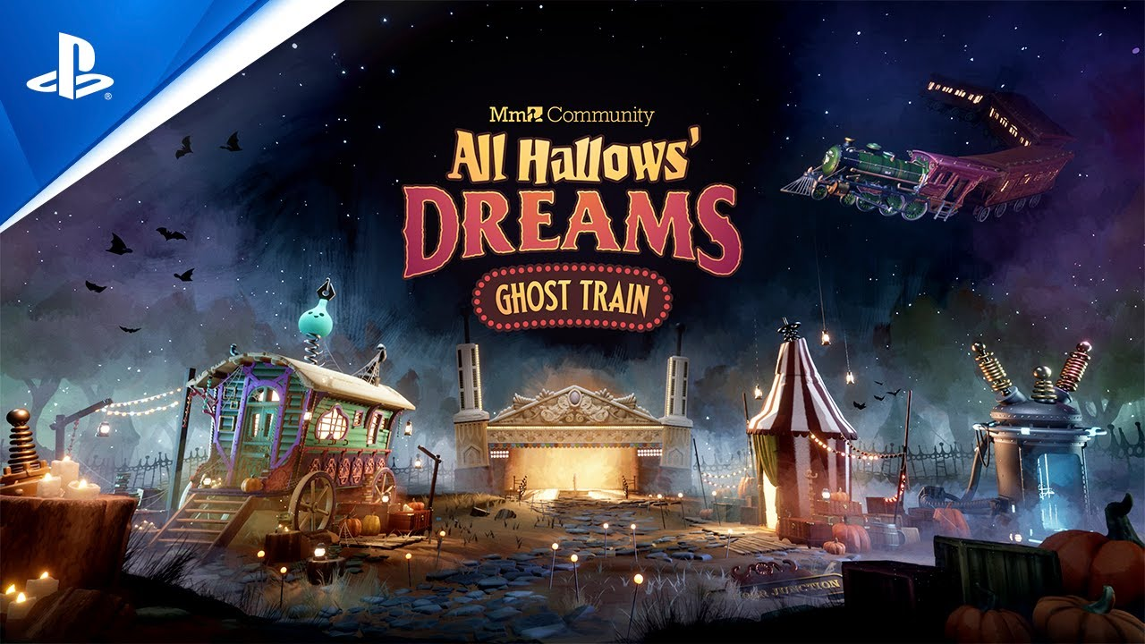 All Hallows' Dreams: Ghost Train – Launch Trailer | PS4