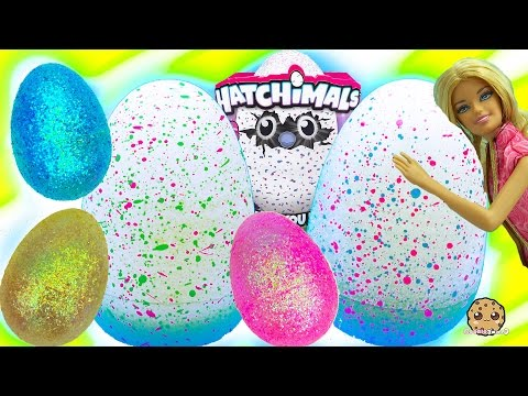 Hatchimals Baby Giant Interactive Eggs that Hatch + Surprise Blind Bag Egg with Barbie - UCelMeixAOTs2OQAAi9wU8-g