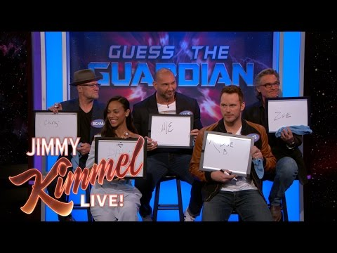 The Cast of Guardians of the Galaxy Vol. 2 Plays 'Guess the Guardian' - UCa6vGFO9ty8v5KZJXQxdhaw