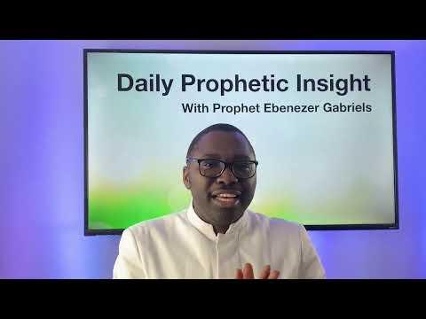 Prophetic insight