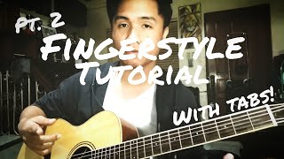 BUWAN - Fingerstyle Tutorial (with TABS) Part 2 • Chorus, Second Verse and Second Chorus
