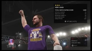 WWE 2K19 ooc vs. Timothy harrington