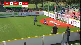 Italy v Indonesia | Great save from Indonesia goalkeeper! | Homeless World Cup 2019
