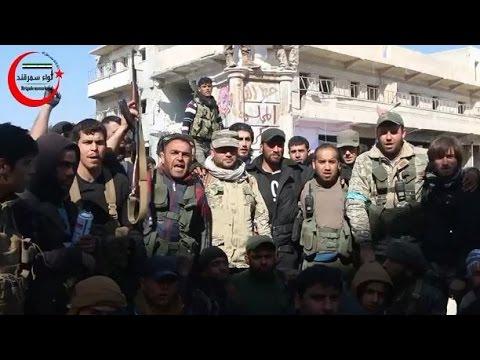 مدينة الباب محررة بالكامل والوجهة القادمة تطهير مدينة منبج شرق حلب .