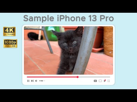Test di ripresa da iPhone 13 Pro in 4K e …