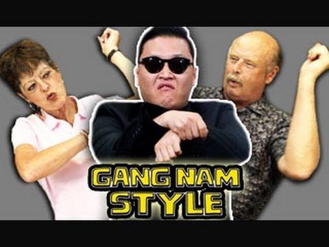 """""""Gangnam Style"""" łączy pokolenia!"""