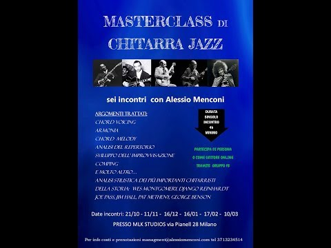 Masterclass di Alessio Menconi a Milano