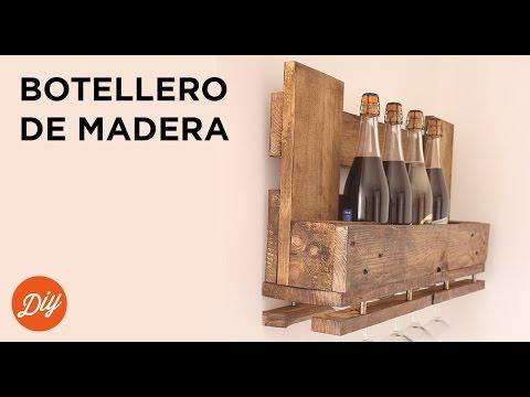 IDEA DIY: Crea un botellero de madera con BLACK+DECKER™