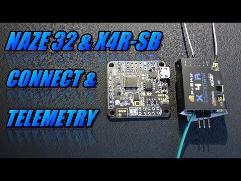 9/12) FrSky TARANIS/Naze32 Telemetry - Simple setup using a D4R-II