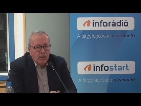 InfoRádió - Aréna - Bakondi György - 2021.09.03.