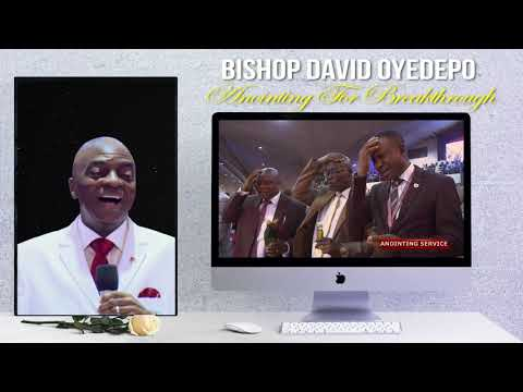 Bishop yedepo  Anointing For Breakthrough(Reload)