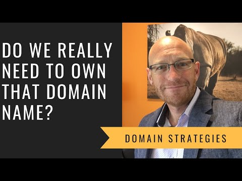 Do we really need to own our domain name?