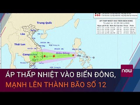 Áp thấp nhiệt vào biển Đông, mạnh lên thành bão số 12   VTC Now