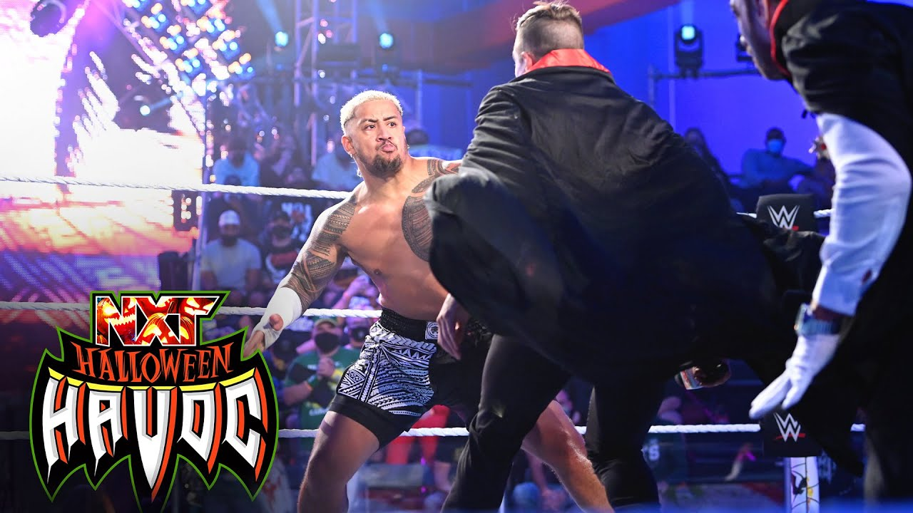 Solo Sikoa announces his arrival with beatdown of Grayson Waller: WWE NXT, Oct. 26, 2021