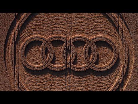 Audi A4 allroad quattro 2016: Crop Circles