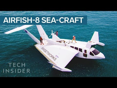 This Sea-Craft Looks Like A Plane, Has A Car's Engine, And Docks Like A Boat - UCVLZmDKeT-mV4H3ToYXIFYg