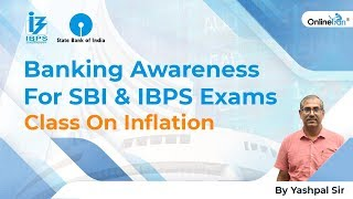 Banking Awareness For SBI & IBPS Exams Class On Inflation