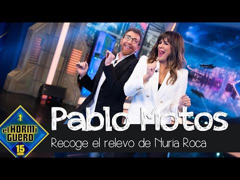 Nuria Roca da el relevo a Pablo Motos - El Hormiguero
