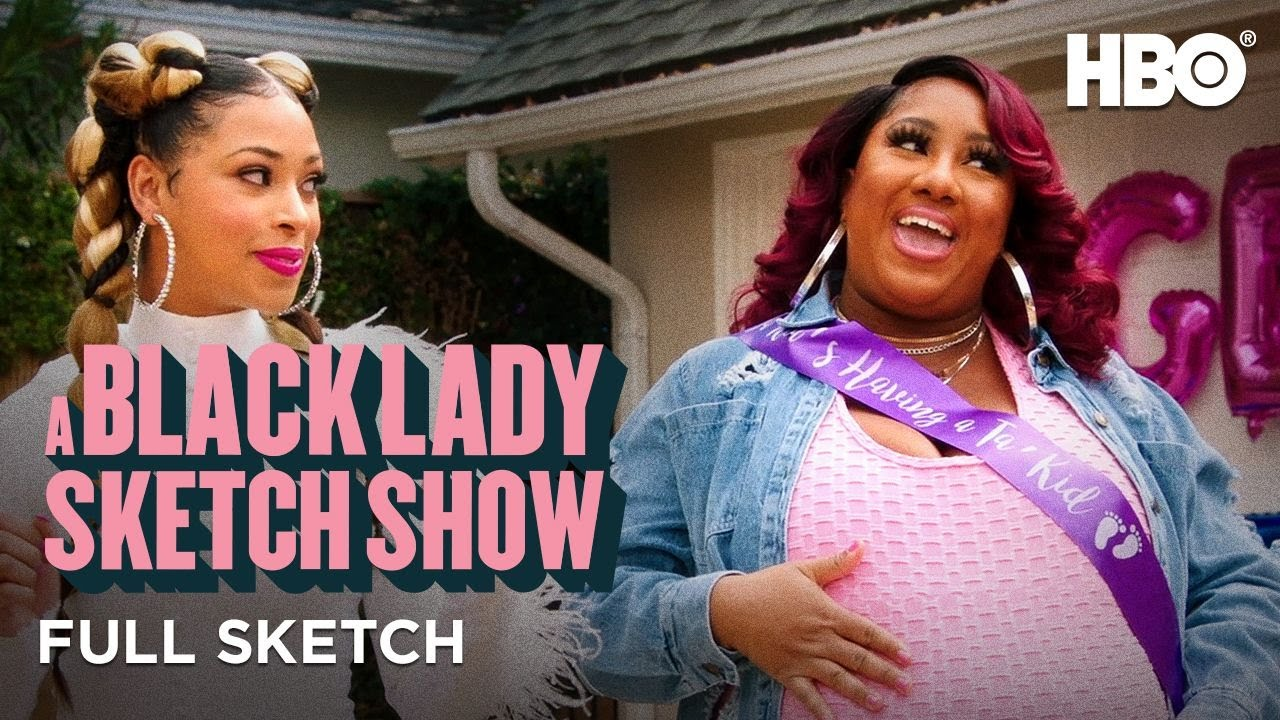 A Black Lady Sketch Show: Gender Reveal (Full Sketch) | HBO