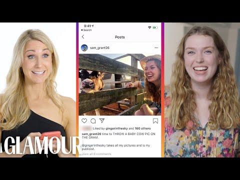 Nikki Glaser Hijacks a Stranger's Phone | Glamour
