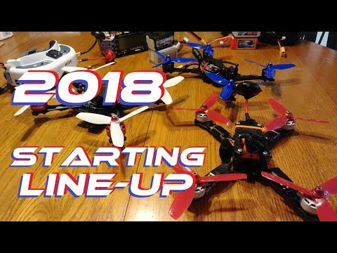 2018 Drone Racing Equipment Starting Line Up - UC92HE5A7DJtnjUe_JYoRypQ