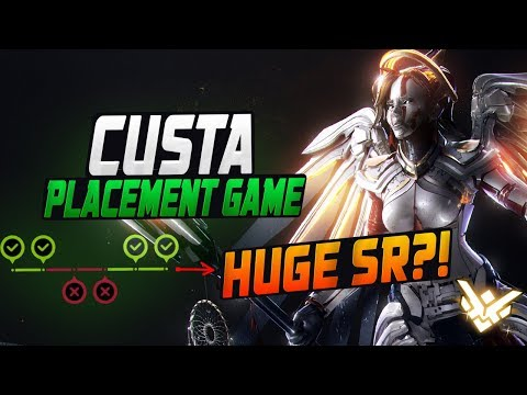CUSTA PRO MERCY! FINAL PLACEMENT GAME! HUGE SR? [ OVERWATCH SEASON 11 TOP 500 ]