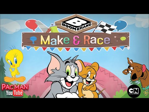 Boomerang Make and Rac‪e‬ Tom & Jerry Racing Game